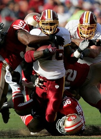 Redskins 49ers Football