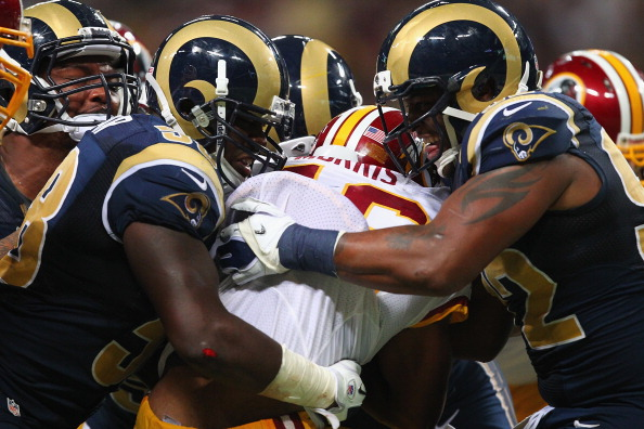 Redskins Defense Can't Stop Rams, Fall in St.Louis 31-28