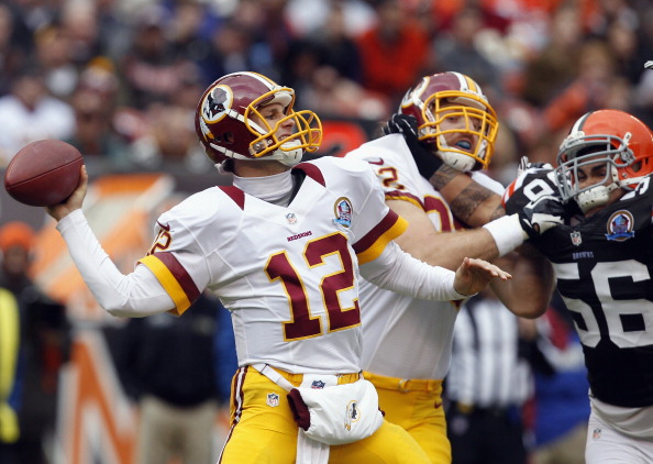 Slow Start No Problem for Redskins in Win in Cleveland