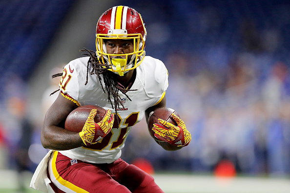 Redskins RB Matt Jones Sits Out of Practice