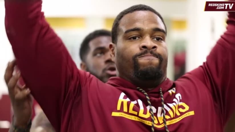 Redskins Limiting Reps for DL Jonathan Allen So He'll Be Ready for the Season
